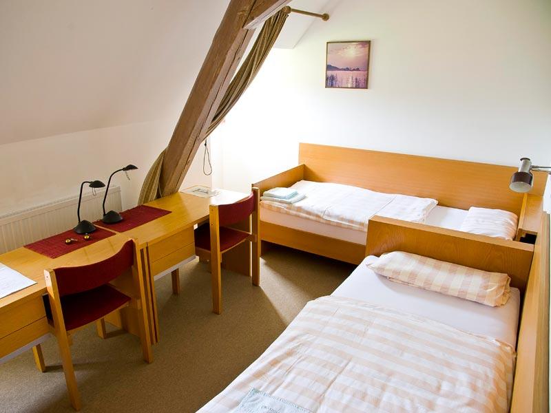 Doppelzimmer im Altbau